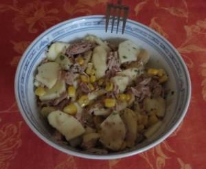 Thunfisch-Apfel