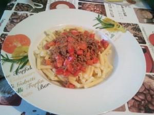 Paprika-Bolognese
